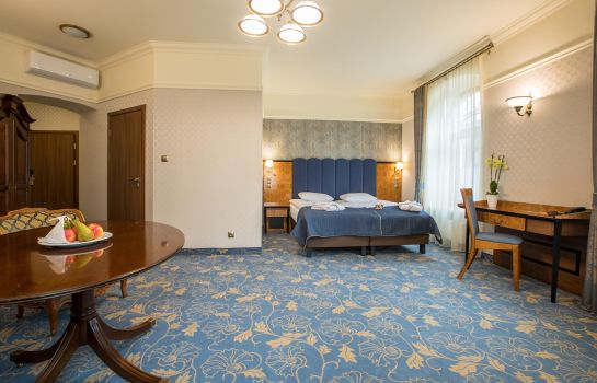 Junior suite Diament Hotel Plaza Gliwice