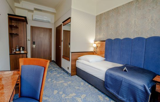 Single room (standard) Diament Hotel Plaza Gliwice