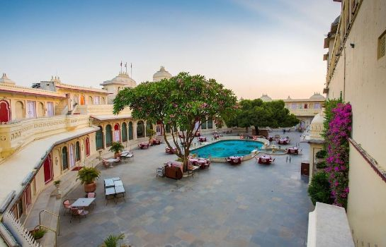 Terrace Shiv Niwas Palace by HRH Group of Hotels