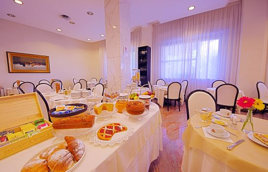 Breakfast buffet Grand Hotel Milano