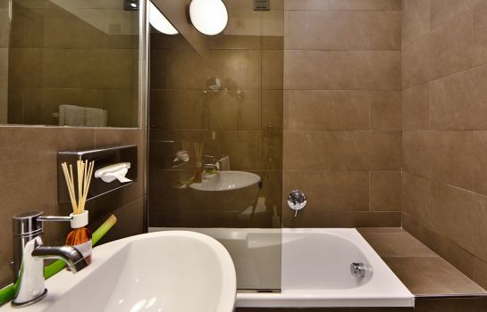 Bagno in camera Best Western Plus Hotel Farnese
