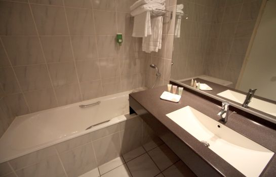 Bagno in camera Best Western Crystal