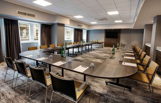 Conference room Hilton Edinburgh Carlton