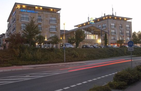 Vista esterna City Hotel Bad Vilbel
