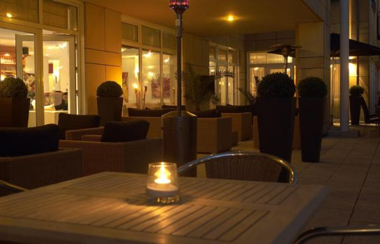 Terrasse City Hotel Bad Vilbel