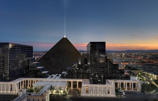 Exterior view MGM Luxor Hotel and Casino