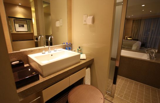 Bagno in camera Juss Hengshan Hotel (Former:Regal International East Asia)