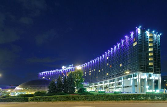 Exterior view AZIMUT Moscow Olympic Hotel
