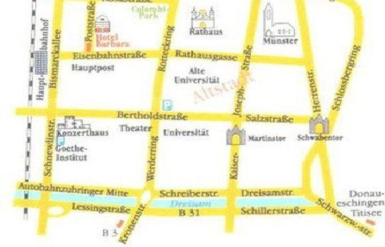 Freiburg Karte Stadtteile.Hotel Barbara Garni In Freiburg Im Breisgau Hotel De