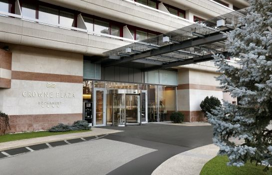 Exterior view Crowne Plaza BUCHAREST