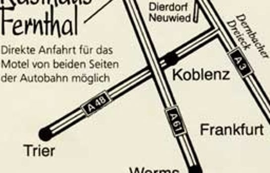How to find us Autobahnmotel Fernthal West