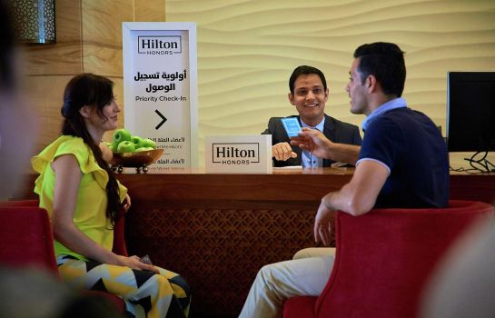 Hotelhalle Hilton Al Hamra Beach Golf Resort
