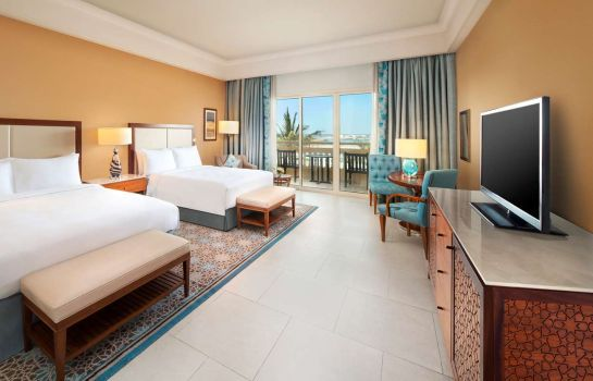 Zimmer Hilton Al Hamra Beach Golf Resort