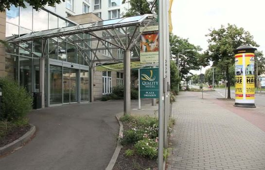 Exterior view Quality Hotel Plaza Dresden