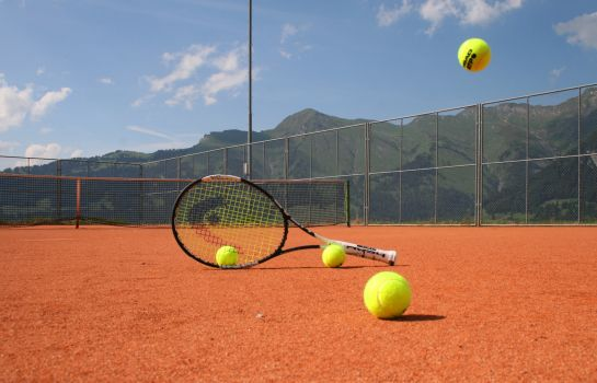Tennisplatz The Alpina Mountain Resort & Spa Romantik Hotel