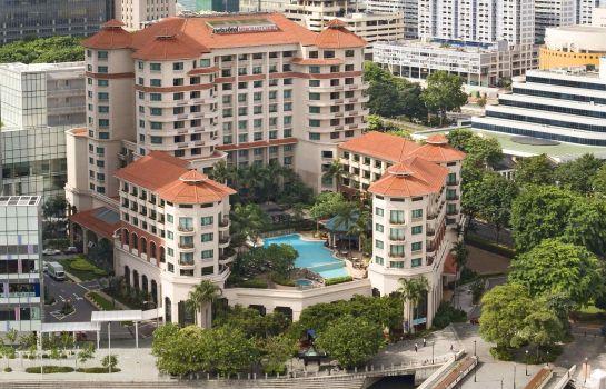 Exterior view Swissotel Merchant Court Singapore