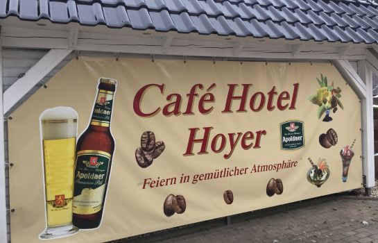 Exterior view Hoyer Cafe Pension und Appartements