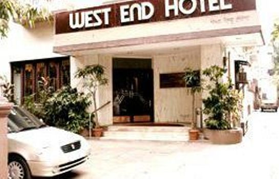 Buitenaanzicht West End Hotel