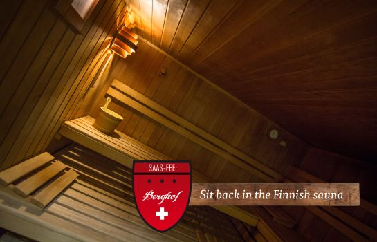Sauna Berghof Garni The Dom Collection