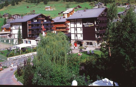 Außenansicht Best Western Plus Alpen Resort Hotel