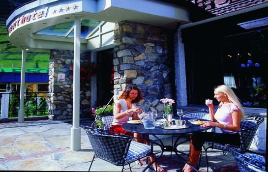 Terrasse Best Western Plus Alpen Resort Hotel