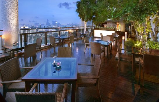 Hotel bar Banyan Tree Bangkok