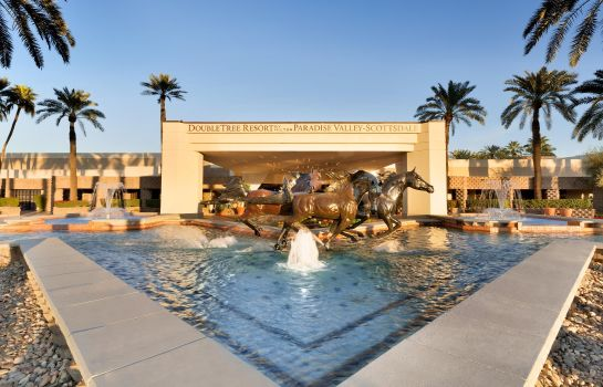 Außenansicht DoubleTree Resort by Hilton Paradise Valley - Scottsdale