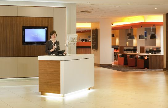 Recepcja Novotel London Waterloo