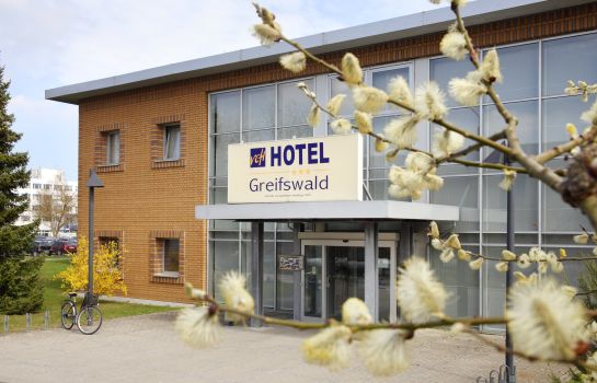 Exterior view Greifswald VCH-Hotel