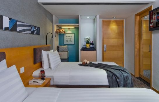 Single room (standard) Kew Green Hotel Wanchai Hong Kong Formerly known as Metropark Wanchai