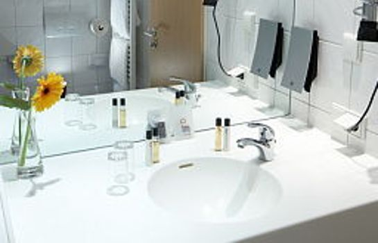 Bagno in camera Airporthotel Adlershof