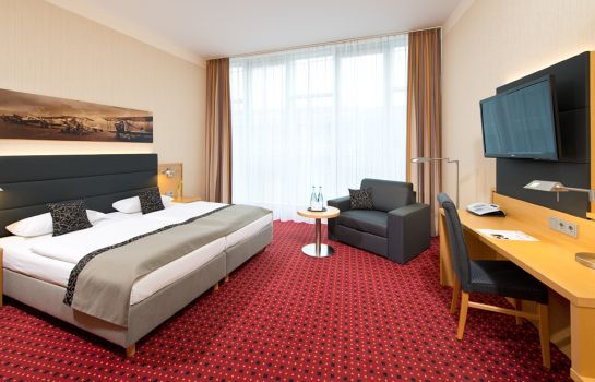 Chambre double (confort) Airporthotel Berlin Adlershof