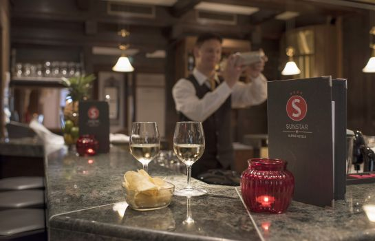 Hotel-Bar Sunstar  Alpine Hotel Arosa