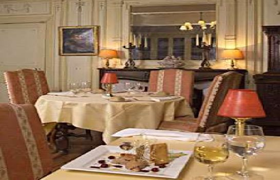 Restaurant Chateau de la Commanderie Chateaux & Hotels Collection