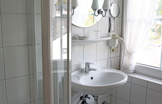 Bagno in camera Haus Thal