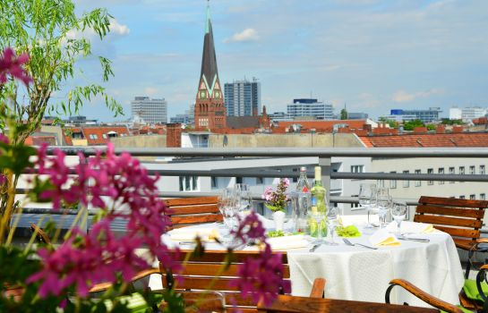 Terrasse Hotel Domicil Berlin by Golden Tulip