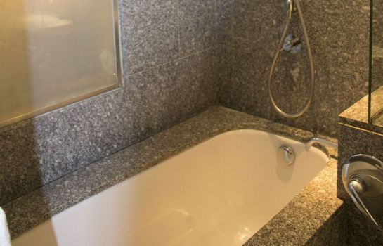 Bagno in camera Hotel la Tour Rose