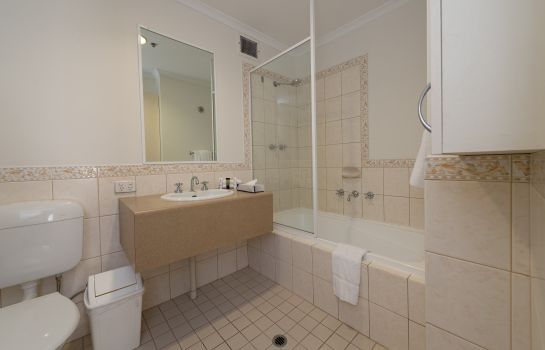Badezimmer ALL SUITES PERTH