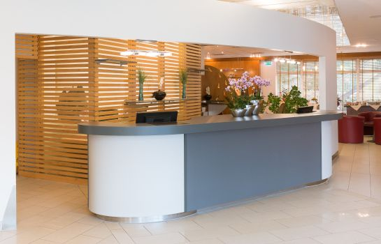 Reception Star Inn Hotel Premium Graz by Quality