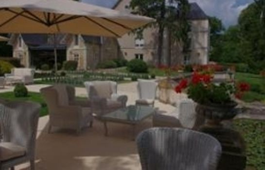 Terrasse Le Chateau du Clos de la Ribaudiere Chateaux & Hotels Collection
