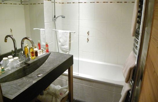 Bagno in camera Hotel Carlina
