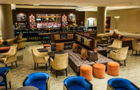 Hotel bar Prague Marriott Hotel
