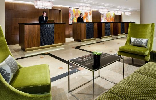 Hall Prague Marriott Hotel
