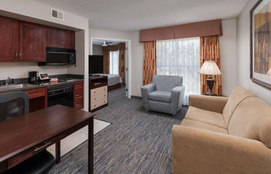 Habitación Homewood Suites Chicago