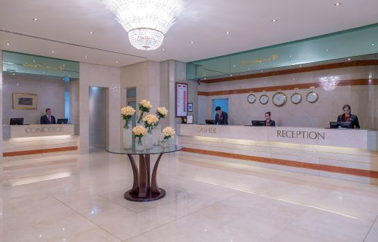 Lobby Crowne Plaza DUBAI APARTMENTS
