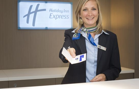 Hotelhalle Holiday Inn Express LILLE CENTRE