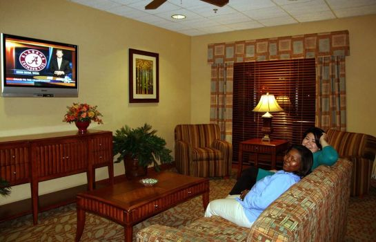 Hotelhalle Hampton Inn West Mobile-Bellingrath Gardens