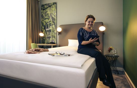 Single room (standard) Mercure Hotel Plaza Essen