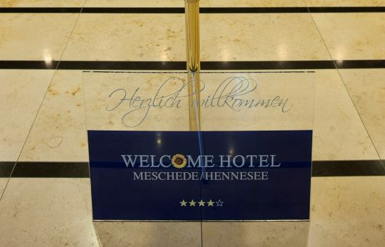 Lobby Welcome Hotel Meschede/Hennesee