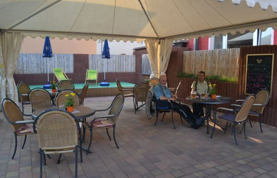Terrasse City Hotel Cottbus